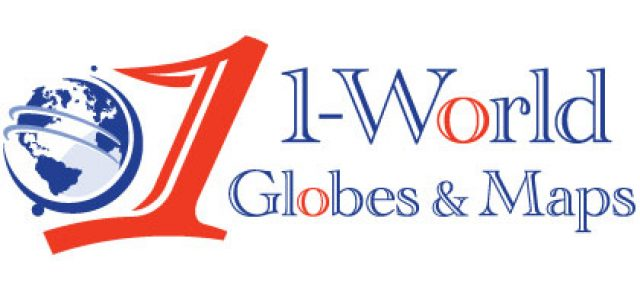 1-World Globes & Maps